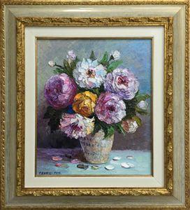 Artistic Flower Composition