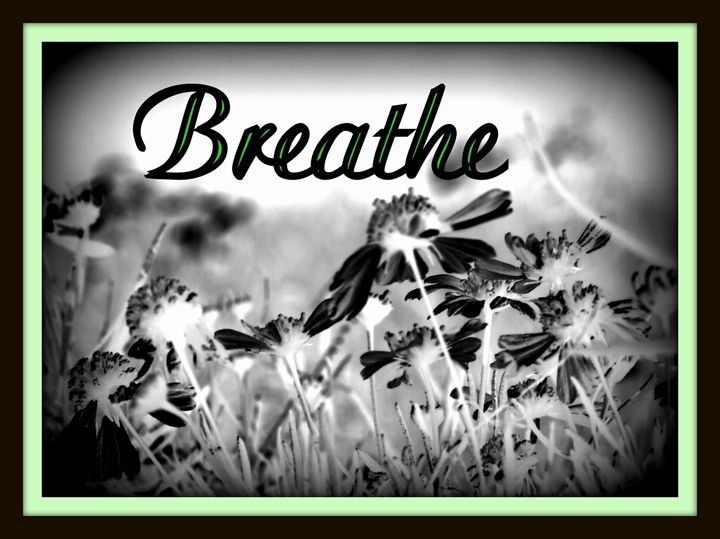 """Black & White """"Breathe"""" - A Touch of Forever by Cassie"""
