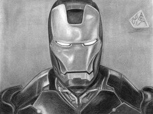 Aptly named Iron man