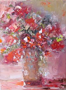 Bouquet in red
