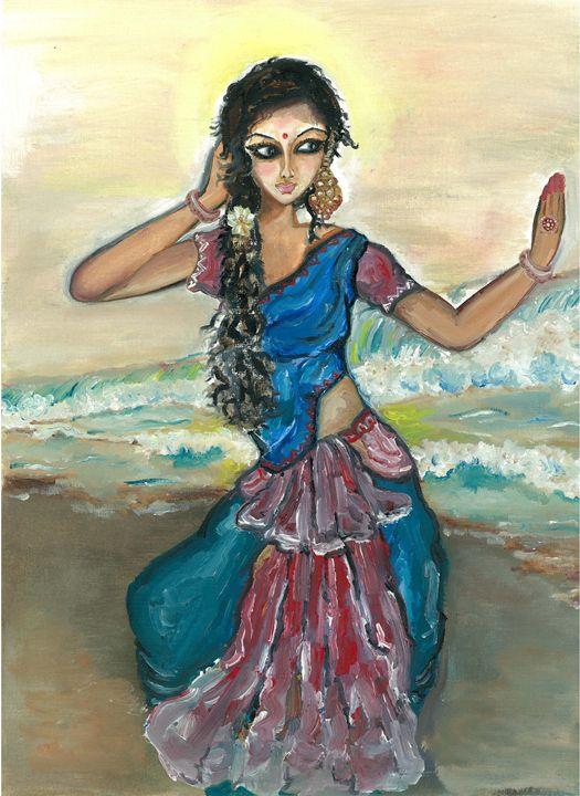 Dancing by the sea - Kriyaarts