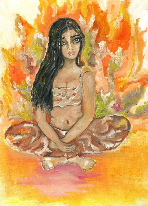 Fire girl - Kriyaarts