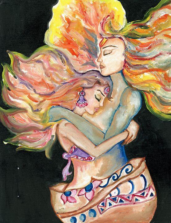 Together like lamp and flame - Kriyaarts