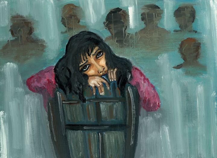 Sad and lonely - Kriyaarts
