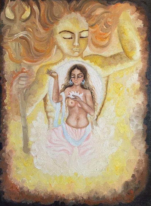 sun moon universe in harmony - Kriyaarts