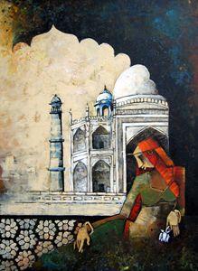 Mumtaz with Taj