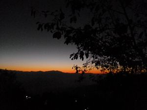 Sunrise at Nagarkot, Pohkara, Nepal