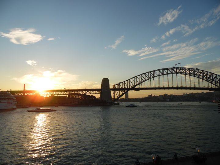 Sunset, Sydney, Australia - May