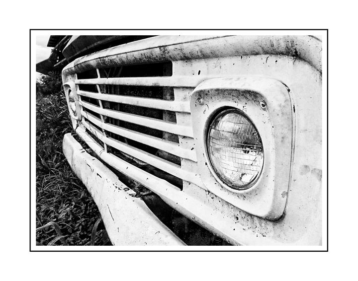 OLD FORD TRUCK - 2 - ARTOGRAPHY