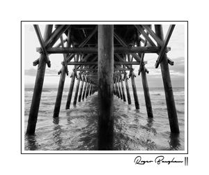 THE PIER - 2 - BW - ARTOGRAPHY