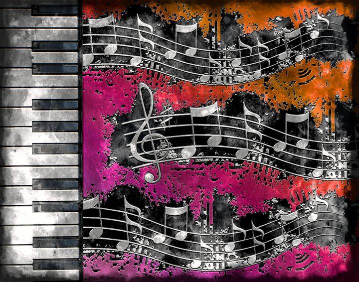 MUSICAL PIANO - 1 - ARTOGRAPHY