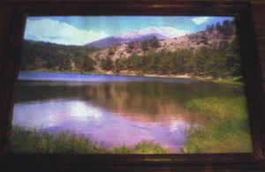 Clear As Glass Mountain Lake