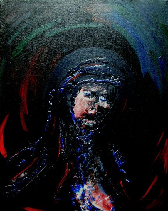 blaue Madonna - Jörg Kruth