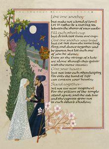 Kahlil Gibran - Marriange