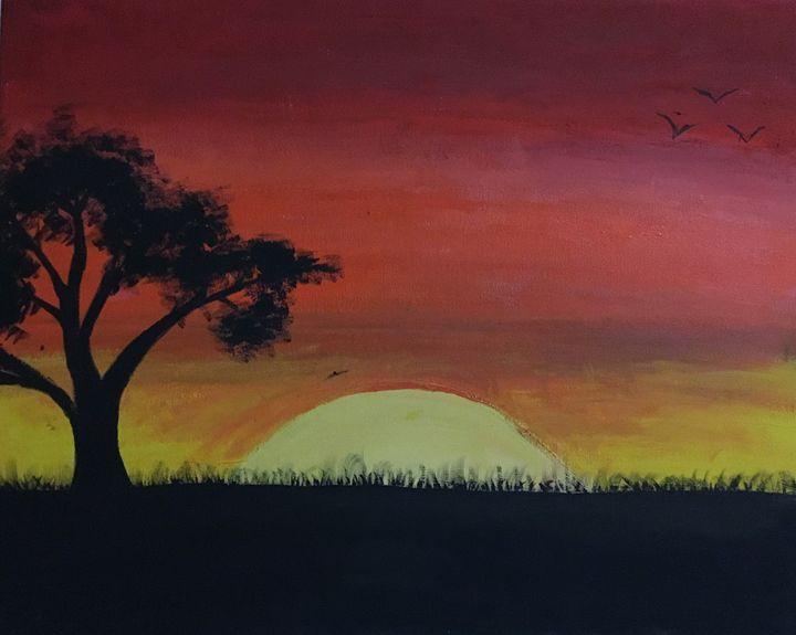 Sunset - Aleena  John