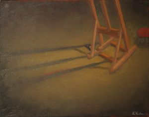 The Lonely Easel
