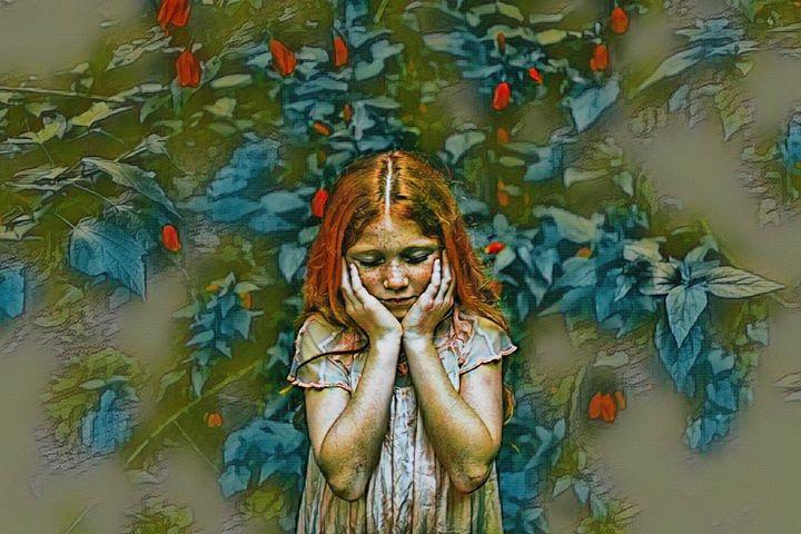 A Shy Beauty - Will Clark Art
