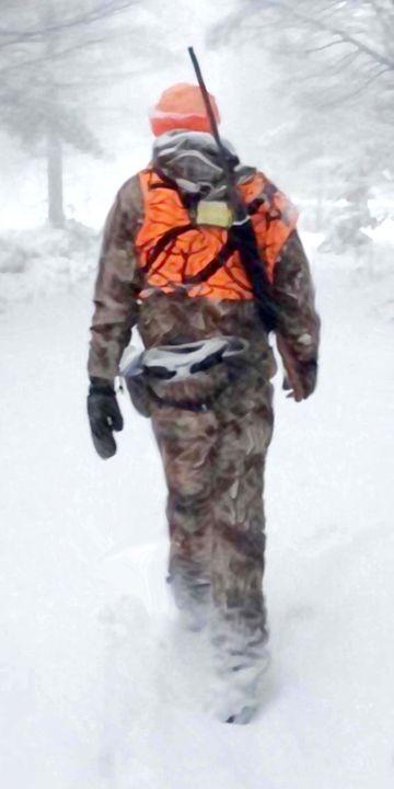 Winter Hunt - Will Clark Art