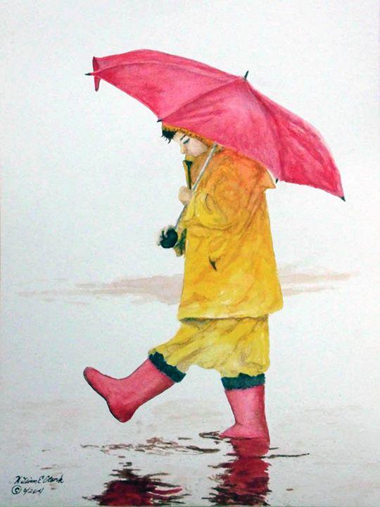 """Walk in the Rain"" - Will Clark Art"