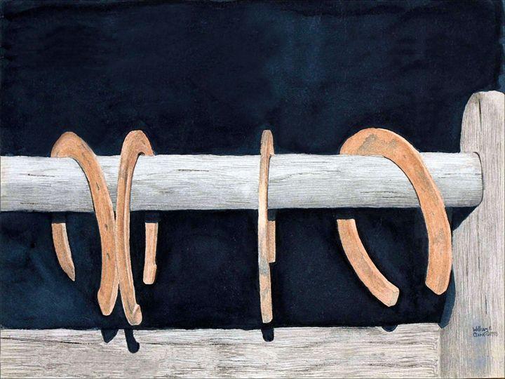 """New Shoes"" - Will Clark Art"