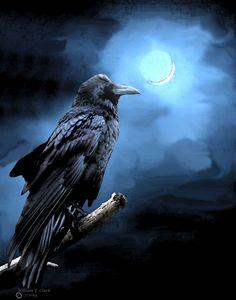 Nevermore - Will Clark Art