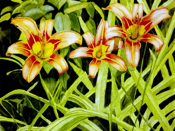 In a Field of Weeds - Will Clark Art