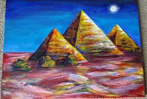 The Night Brings Red Sand - Lindsey Luke