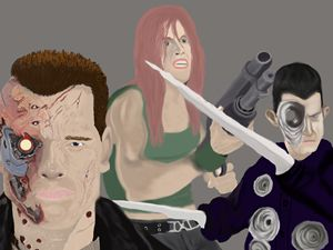 The Terminator poster artwork