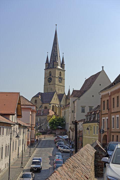 Evangelical Cathedral Sibiu Romania - Adrian Bud