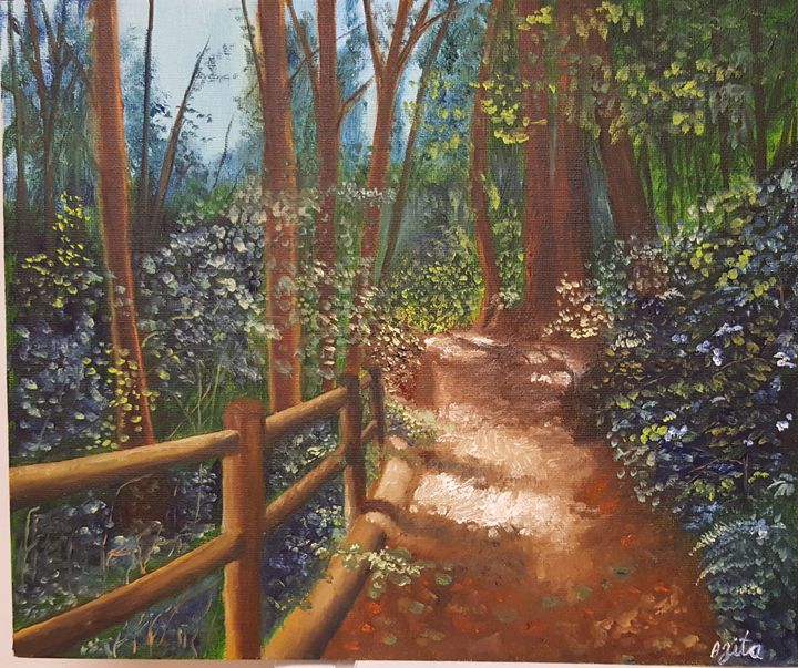 Walk in the park - Azi Hess Art