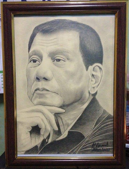Portrait 16th Philippines President - BR art