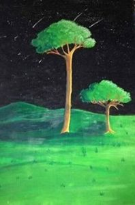 """Painting """"Trees"""""""