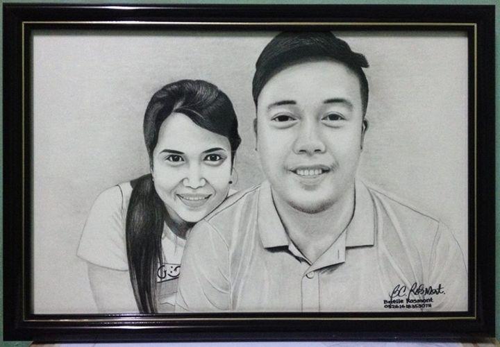 """Portrait """"Codinera & Quisil Couple"""" - BR art"""