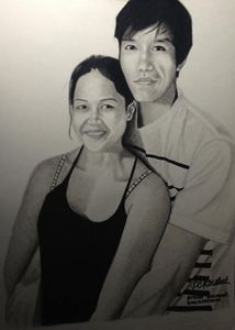 "Portrait ""Mahilum Couple"""