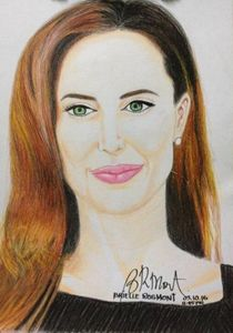 "Portrait ""Angelina Jolie"""