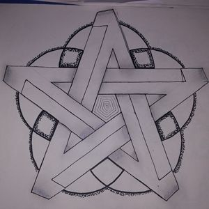 Impossible Star Drawing