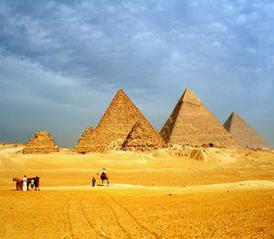 The Great Pyramids Giza Plateau - sheryl chapman photography