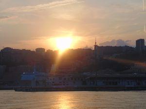 genovian sunset
