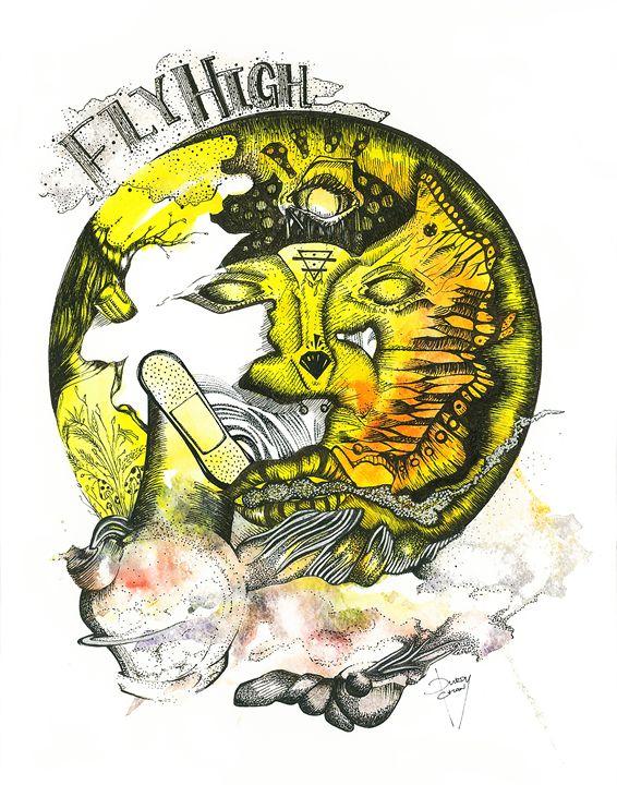 Fly High - Fresc Emocio Art