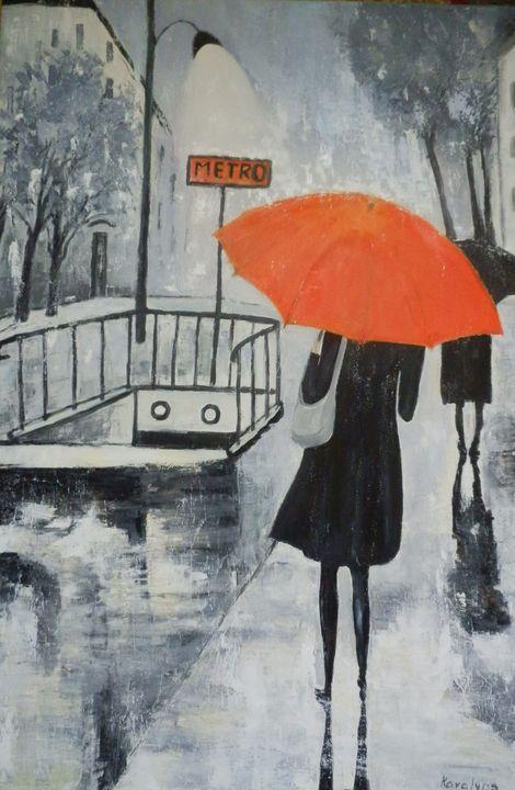 Again the same rain - Maria Karalyos