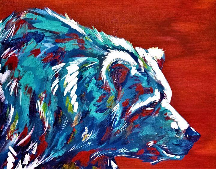 Bear - Luke Graves Art
