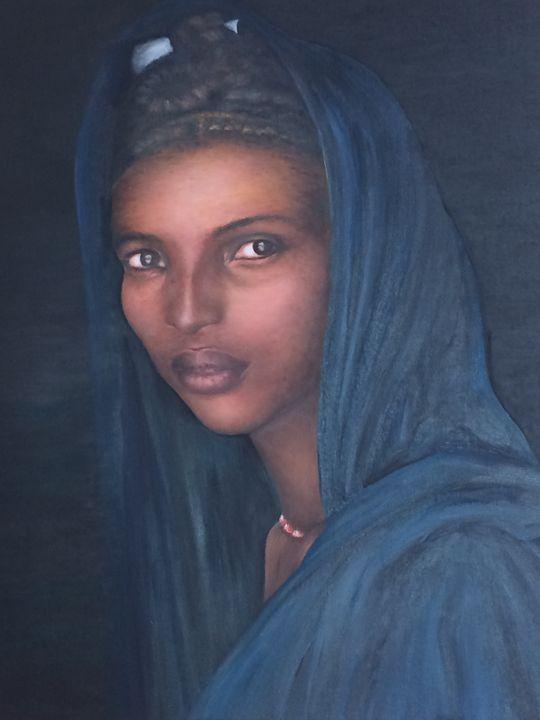 Black young woman - ARLEQUIN