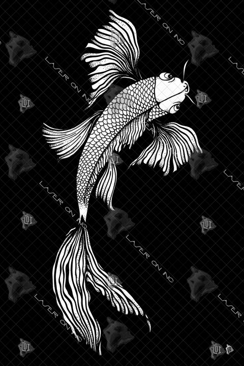 vertical-koi-art1-24 - Laser On Inc