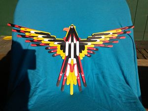 craft stick eagle