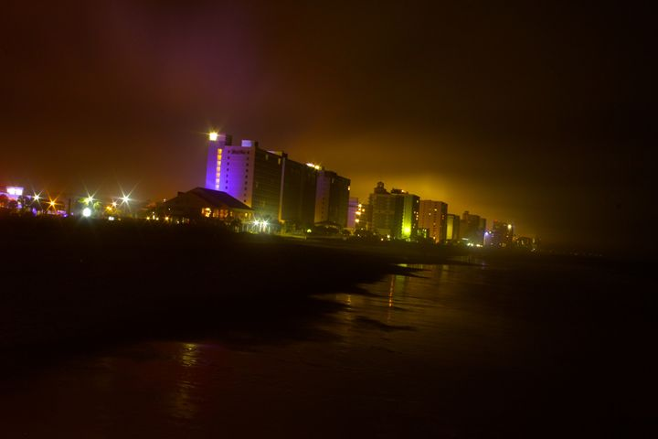 Myrtle Beach at Night #2 - Liquatic Photography