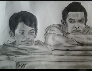 Amir khan and darshil
