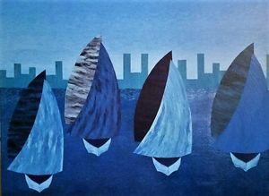 The Blue Regatta - JG Art