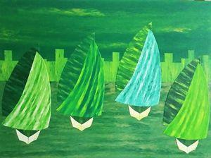 The Green Regatta - JG Art