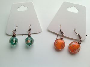 Handmade Lampwork (Murano) earrings