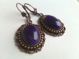 Handmade Agate Earrings
